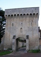 Porte de ville -  fr:Poterne de la cité médiévale de fr:Druyes-les-Belles-Fontaines