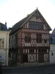 Maison de bois ou maison du bailli -  Photo de la maison du Bailli