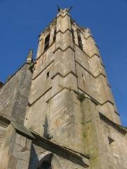 Eglise -  Noyers-sur-Serein, Yonne, Bourgogne, France. Church.