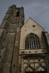 Eglise -  Noyers sur Serein Eglise Notre Dame façade et tour