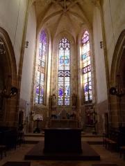 Eglise - English: Noyers-sur-Serein, Yonne, Burgundy, FRANCE