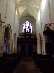 Eglise - English: Pipe organs, Noyers-sur-Serein, Yonne, Burgundy, FRANCE
