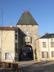Porte de Ville - English: Noyers-sur-Serein, Yonne, Burgundy, FRANCE