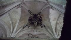 Eglise Saint-Pierre - Il s'agit de la clé de voute pendante, renaissance, de l'église Saint-Pierre de Saint-Julien du Sault (Yonne) France