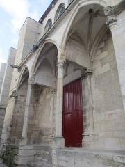 Eglise Saint-Pierre - Église Saint-Pierre de Saint-Julien-du-Sault, portail Sud.