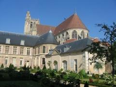 Ancien archevêché ou ancien palais archiépiscopal -  Cathédrale de Sens, Yonne, France
