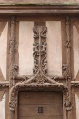 Maison dite d'Abraham -  Maison d'Abraham, Sens, Côte d'Or, Bourgogne, France