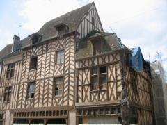 Maison dite d'Abraham -  Sens, Yonne, France: maison dite d'Abraham