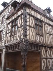 Maison dite d'Abraham -  16 century house, called: Maison d'Abraham. (Sens - Yonne - France)  /  Maison du 16e siècle, appelée