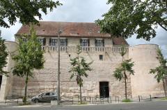 Rempart gallo-romain -  Sens, Yonne, Bourgogne, France