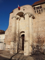 Rempart gallo-romain - Français:   Rempart de la Poterne de Sens (Yonne, France)
