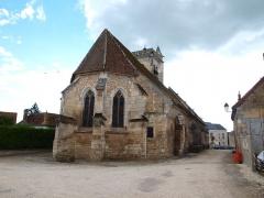 Eglise Saint-Julien - Français:   Thury (Yonne, France)