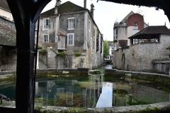 Fosse-Dionne - Nederlands: Fosse Dionne te Tonnerre (Yonne) met uitloop naar de rivier Armançon