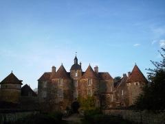 Château de Ratilly -  Château de Ratilly du XIIIe siècle - Treigny dans le département de l'Yonne(89)