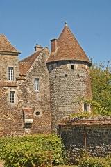 Château de Ratilly - Deutsch: Chateau-de-Ratilly, Südostturm von S
