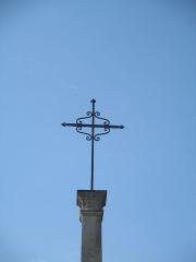 Croix de pierre - Français:   Croix de St Nicolas