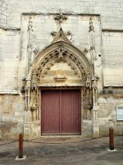Eglise Saint-Romain - Français:   Église Saint-Romain de Migé (Yonne, France)