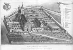 Ancienne abbaye Saint-Lucien, à Notre-Dame-du-Thil -