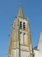 Eglise Saint-Pierre - Français:   Le clocher flamboyant.