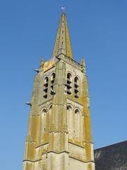 Eglise Saint-Pierre - Français:   Le clocher.