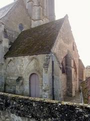 Eglise Saint-Pierre - Français:   Le narthex désaffecté.