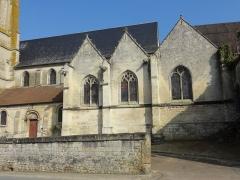 Eglise Saint-Pierre - Français:   Nef et chapelles latérales du sud.