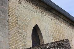 Eglise - Français:   Bresles - Eglise Saint-Gervais-Saint-Protais, détail mur Sud