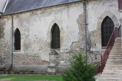Eglise - Français:   Bresles - Eglise Saint-Gervais-Saint-Protais, mur Nord de la nef