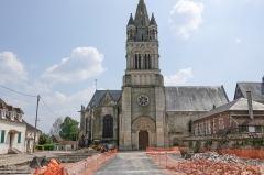 Eglise - English:   Église Saint-Gervais-et-Saint-Prothais de Bresles, Bresles, France