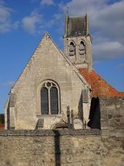 Eglise - English: The Roman catholic church of Breuil-le-Vert, Oise, France.