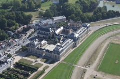 Eglise Notre-Dame de l'Assomption - English: The Great Stables of the Chantilly