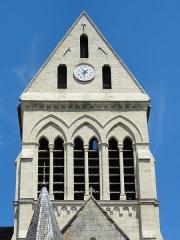 Eglise de la Sainte-Trinité -  Église de la Sainte-Trinité de Choisy-au-Bac (voir titre).