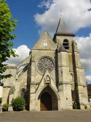 Eglise Saint-Martin - Français:   Façade occidentale.