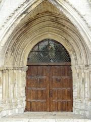 Eglise Saint-Martin - Français:   Portail occidental.