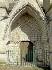Eglise Saint-Martin - Français:   Portail méridional.