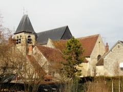Eglise Saint-Martin - Français:   Vue depuis la rue des Usines à l\'est.