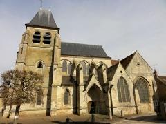 Eglise Saint-Martin - Français:   Élévation latérale sud.