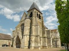 Eglise Saint-Martin - Français:   eglise de Cires-lès-Mello, oise, france