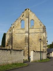 Ruines de la grange aux dîmes - Français:   Pignon oriental, impasse de la Grange aux Dîmes.
