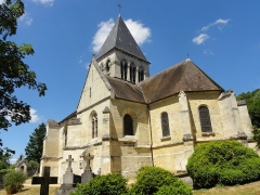 Eglise -  Église Saint-Étienne de Clairoix (voir titre).