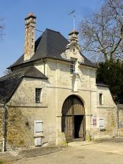 Abbaye de Royallieu - Français:   Ancienne porterie de l\'abbaye.