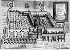 Ancienne abbaye de Saint-Corneille, abritant la Bibliothèque municipale Saint-Corneille - French archaeologist and historian