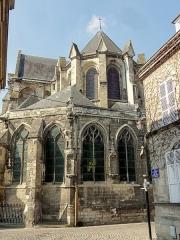 Eglise Saint-Jacques - Chevet, côté est.