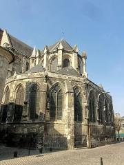 Eglise Saint-Jacques - Chevet, côté sud-est.