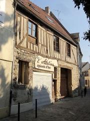 Immeubles - Français:   Maison à colombages 12 rue des Cordeliers.