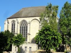 Eglise Saint-Médard - Chapelle nord et nef - élévation ouest.