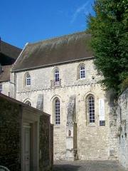 Ancien château Saint-Aubin - Français:   La chapelle du château Saint-Aubin, depuis la rue Gustave-Chopinet qui constitue l\'unique accès au château, partant de la place Gambetta au centre-ville.