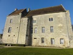 Ancien château Saint-Aubin - Français:   Façade méridionale.