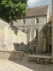Ancien château Saint-Aubin - Français:   Aile nord, vue depuis l\'ouest.