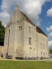 Ancien château Saint-Aubin - Français:   Aile ouest, vue depuis le sud-ouest.